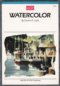 Watercolor by Duane R. Light, 1984, paperback edition, Artist's Library Series painting