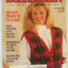 Workbasket December 1990 Holiday Projects: Needlwork, Crafts, Foods, Gardening