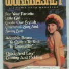 Workbasket July 1984 Knit, Crochet, Tatting, Sewing, Quilting, Crafts, Foods, Gardening