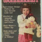 Workbasket August 1985 Knit, Crochet, Tatting, Sewing, Quilting, Foods, Gardening
