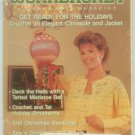 Workbasket December 1987 Christmas: Needlework, Sewing, Crafts, Foods, Gardening