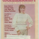 Workbasket May 1988 Knit, Crochet, Tatting, Sewing, Quilting, Foods, Gardening