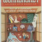 Workbasket June-July 1988 Christmas in July: Knit, Crochet, Tatting, Sewing, Foods