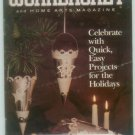 Workbasket December 1989 Holidays: Knitting, Stitchery, Crafts, Foods, Gardening