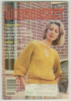 Workbasket June 1979 Needlework, Sewing, Crafts, Foods, Gardening