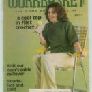 Workbasket August 1979 Crochet, Knit, Tat, Sew, Crafts, Foods, Gardening