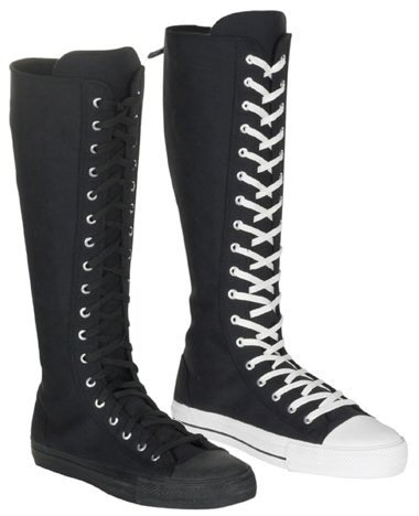 Deviant Men's Knee High Lace Up Sneaker Boot