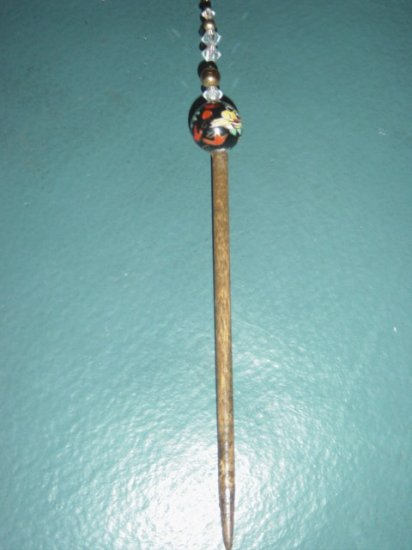 Asian Dragon Ball Hair Pick Decoration at The Clothes Horse #900082