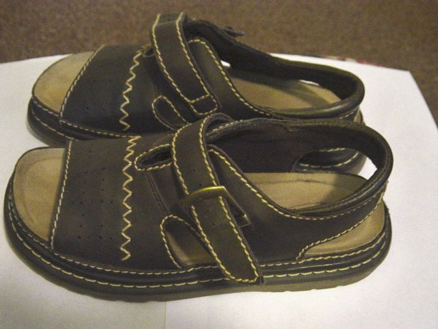 Woman's Brown Lower East Side Sandals Shoes Size 7  #900366