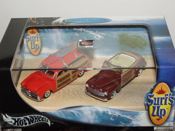 Hot Wheels 100% Collectibles Surf's Up 2 Car Set 1/64 Scale