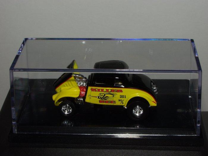 "Hot Wheels 100% Black Box '33 Willys ""Killer Bee"" 1/64 Scale"