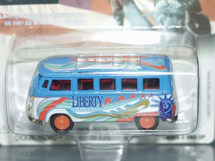 Johnny Lightning Liberty Promotions Special Edition '66 VW 23 window Samba Bus