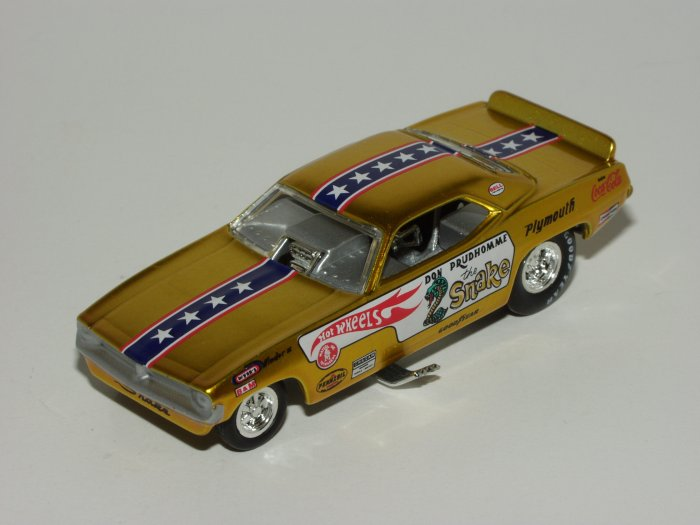 Hot Wheels 2005 Showcase Snake & Mongoose 2 Car Set 1/64 Scale Loose
