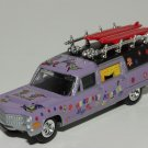 Johnny Lightning 1999 Fright'ning Lightning Heavenly Hearse Lavender Loose
