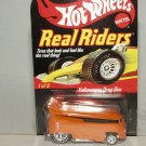 2007 Hot Wheels Collector's Club Real Riders VW Drag Bus-Orange #9397