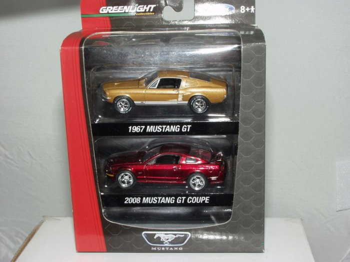 Greenlight Collectibles Mustang GT Factory 2 Pack