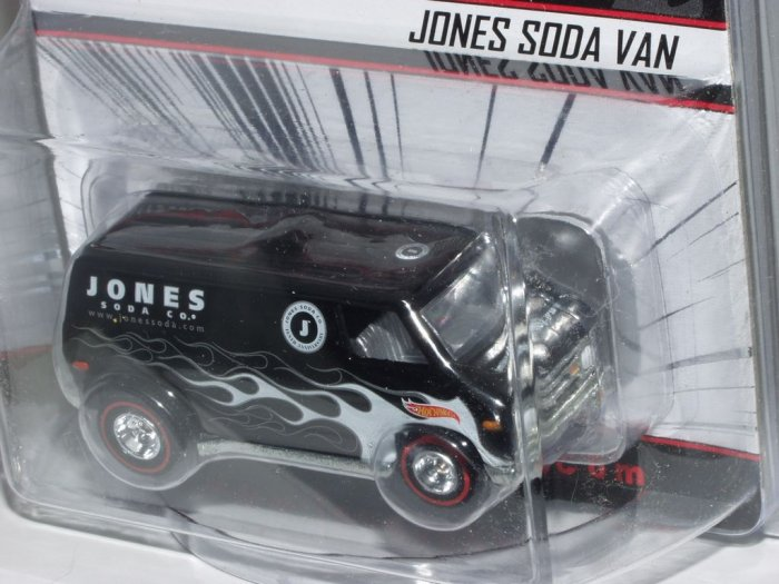 Hot Wheels Jones Soda Co. Tenth Anniversary Van