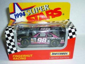 1994 Series II White Rose Collectibles Matchbox Super Stars Fingerhut Racing #98