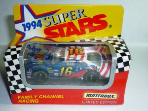 1994 Series II White Rose Collectibles Matchbox Super Stars Family Channel #16