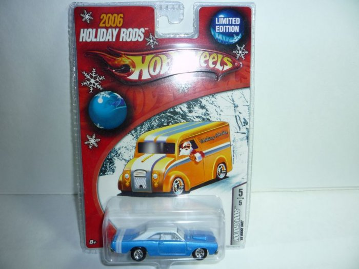 2006 Hot Wheels Holiday Rods '68 Dodge Dart...Blue