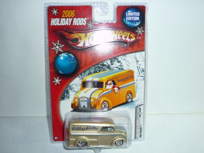 2006 Hot Wheels Holiday Rods Dairy Delivery...Gold