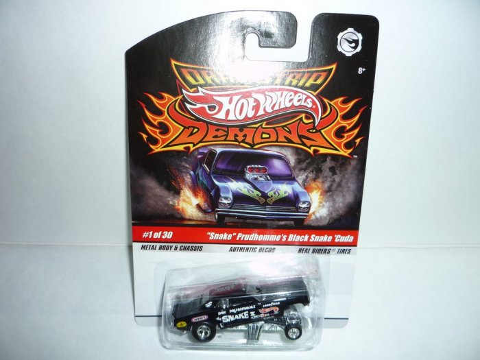 Hot Wheels Drag Strip Demons..Snake