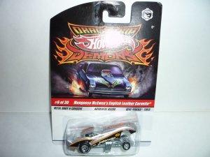 Hot Wheels Drag Strip Demons...Mongoose Corvette