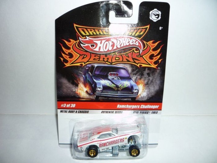 Hot Wheels Drag Strip Demons...Ramchargers Challenger