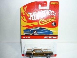 Hot Wheels Classics Series 2 1965 Mustang...Gold