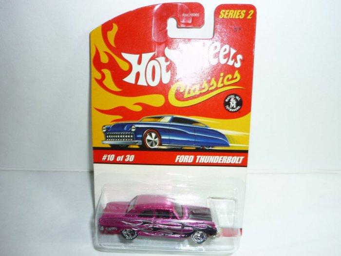 Hot Wheels Classics Series 2 Ford Thunderbolt...Pink