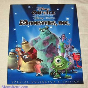 Disney Pixar Monsters Inc Live Show Program Mike Sully Boo Disney On Ice