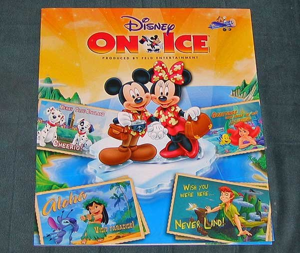 Mickey Minnie's Magical Journey Disney On Ice Live Show Program OOP