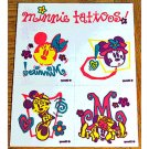 Disney Simply Minnie Tattoos Unique Limited Edition Premium LE Set 2 Rare