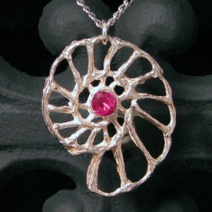 Sterling Silver Nautilus Pendant
