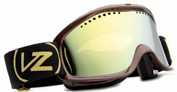 Von Zipper Bushwick Goggles Gold Chrome Lens