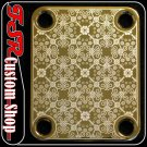 (G0009) GOLD PLATE fit 4bolt neck jackson/bc rich/fender/gibson