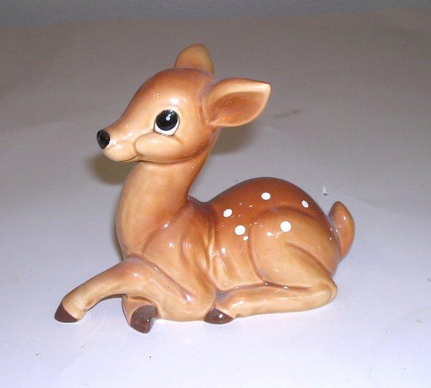 Vintage Norcrest Japan Spotted Fawn Deer Figurine