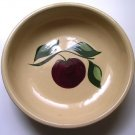 Vintage Watt Pottery Apple Bowl Pasta Spagetti Bowl # 24 Watt Oven Ware