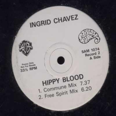 "Ingrid Chavez Hippy Blood Promo12"""" Single"