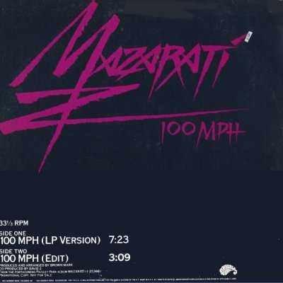"""Mazarati 100 MPH Promo12"""""""" Single"""