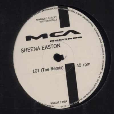 "Sheena Easton 101 (The Remix) Promo12"""" Single"