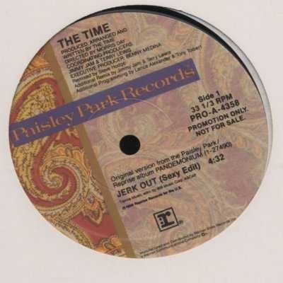 "The Time Jerk Out Promo12"""" Single"
