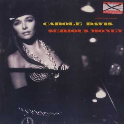 "Carole Davis Serious Money 12"""" Single"