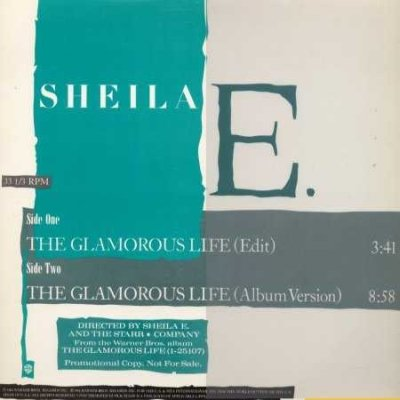 "Sheila E The Glamorous Life Promo12"""" Single"