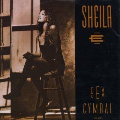 """Sheila E Sex Cymbal 12"""""""" Single"""