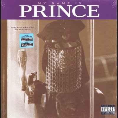 """Prince My Name Is Prince 12"""""""" Single"""