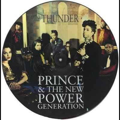 "Prince Thunder 12"""" Picture Disc"