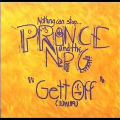 "Prince Gett Off 12"""" Single"