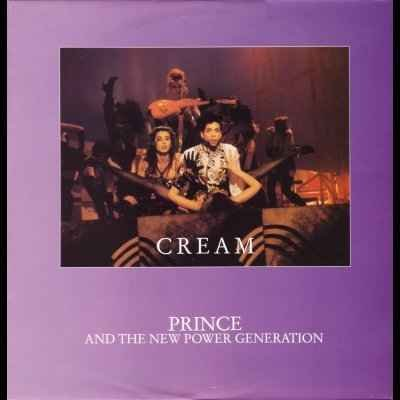 """Prince & The New Power Generation Cream 12"""""""" S"""