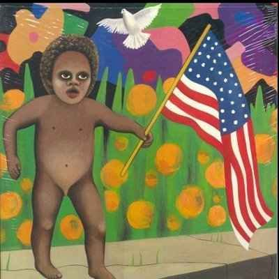 "Prince and The Revolution America 12"""" Single"